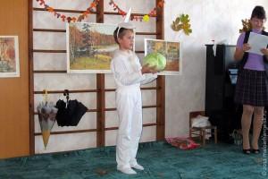 Праздник осени в Тиняковском детском саду. Заяц.