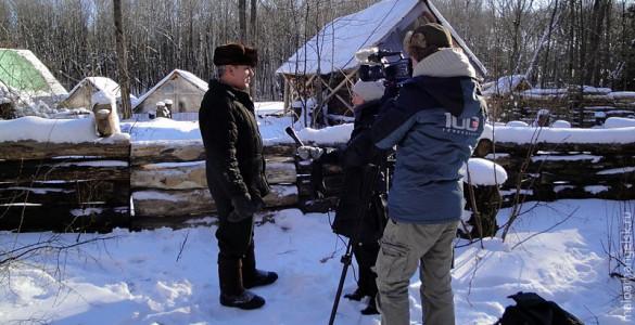 Приезжал на съёмку канал ТВ 100 из Санкт-Петербурга.