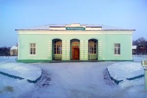 Вокзал станции Малоархангельск. 20 января 2012 года. Фото: М. Быков.
