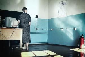Ивановская средняя школа. Внутри. 2004 год.