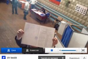 Итоги выборов на 459 избирательном участке.