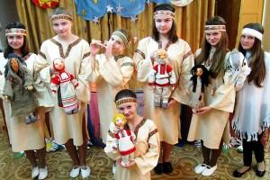 Участники спектакля «Терёшечка».