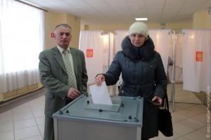 В Малоархангельске идут выборы Президента РФ.