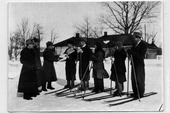 Звездно-лыжная эстафета. 15.03.1948 года.
