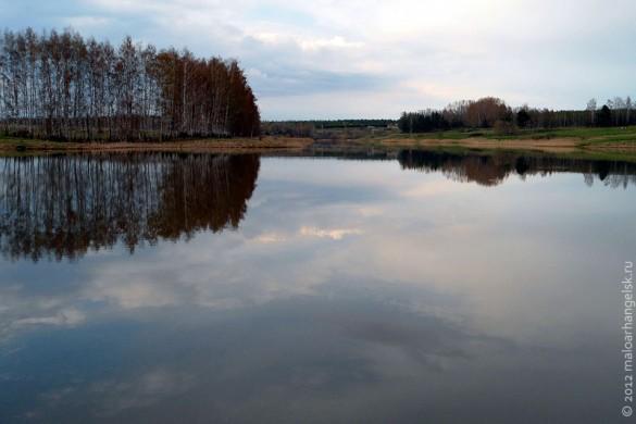 Пруд Старый беленький в Малоархангельске.