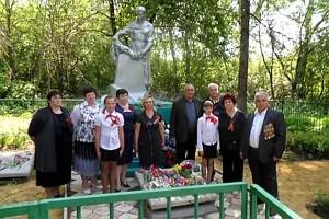 Вахта памяти в Каменке, май 2012 года.