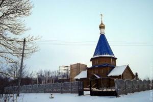 Возрождённая Корсунская церковь.