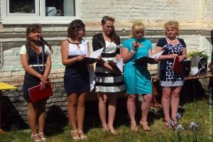Выпускницы Ивановской школы. 2012 год.