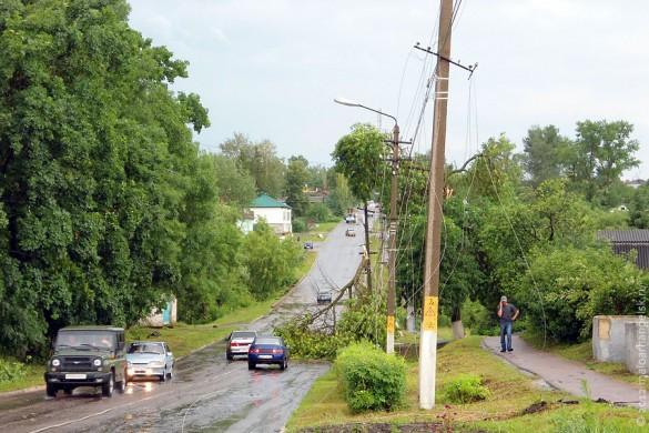 После дождя-урагана. Малоархангельск, 10 июня 2012 года.