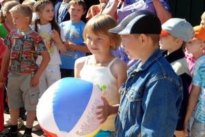 День защиты детей в Малоархангельске, 2012 год.