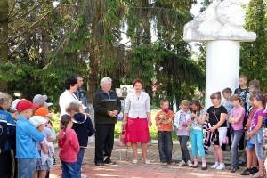 Пушкинский праздник в Малоархангельске 6 июня 2012 года.