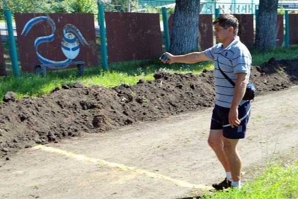 Владимир Туранцев и секундомер — почти одно целое.