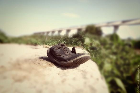 Детский ботиночек.
