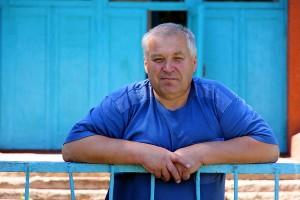 Директор Губкинской школы Панкратов.