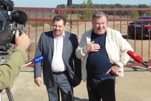 Губернатор посетил завод ратительных масел.