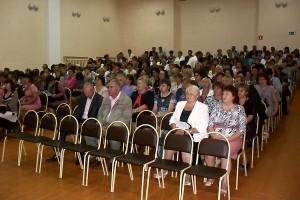 Августовское совещание работников образования Малоархангельского района — 2012.