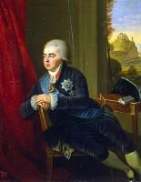 Людвиг Гуттенбрунн. Портрет князя Алексея Куракина, канцлера орденского совета и правителя Украины, 1801 год.