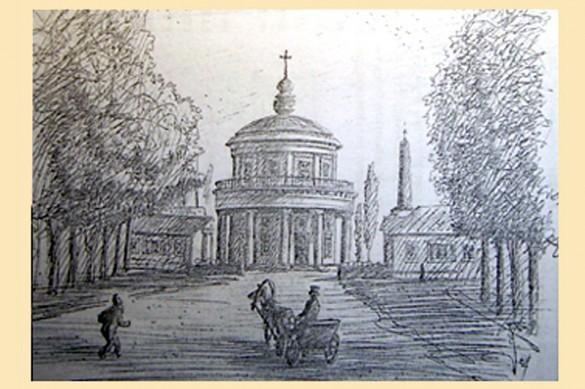Преображенская церковь в селе Куракино.