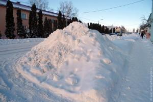 15 декабря 2012 года. Большой снег в Малоархангельске.