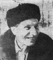 На снимке: И. А. Буданов, Фото П. Щербакова.