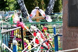 На малоархангельском городском кладбище.