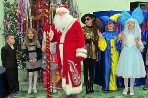 Новогоднее представление на елке главы района, 2013 год.