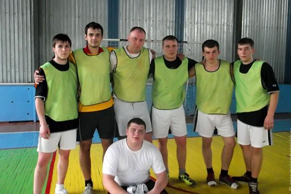 Футбольная команда Малоархангельского района.