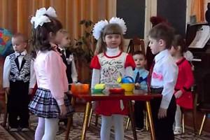 День бантика в детском саду Малоархангельска.