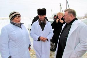 Губернатор Орловской области с рабочей поездкой побывал в Малоархангельском районе.