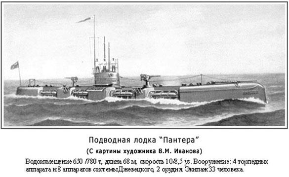 Подводная лодка «Пантера».