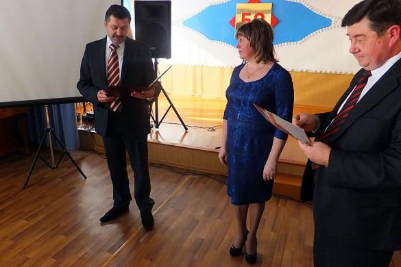 В праздновании принял участие Заместитель председателя правительства области, руководитель  блока социального   развития Ревякин Олег Николаевич.