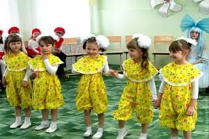 «Первые шаги» — отчётный итоговый праздник студии раннего развития «Приготовишки».