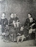 Семья Дубровинских Григорий, Любовь Даниловна, Яков, Семён, тётя А.Р.Кривошеина, Иосиф (Орёл, 1882).