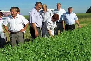 Взаимопроверка посевов на сельхозпредприятиях.