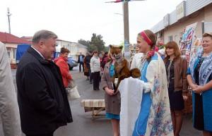 На дне города Малоархангельска.