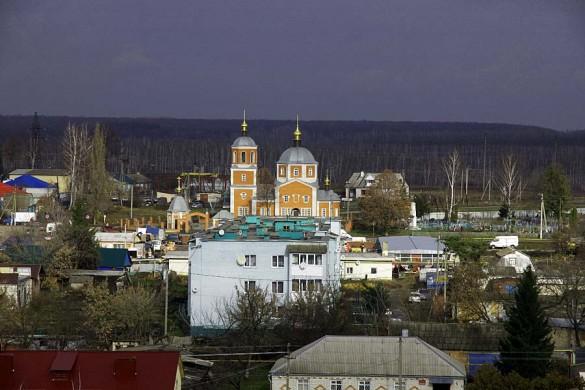 Церковь Михаила Архангела в Малоархангельске.