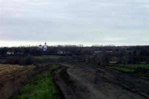 Дорога к Архарово со стороны Покровского района.