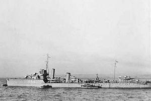 """Британский эскадренный миноносец Vittoria, потопленный в 1919 году русской подводной лодкой """"Пантера"""", найден российскими водолазами в восточной части Финского залива"""