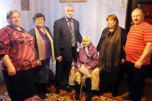 Марии Семеновне Белоусовой исполнилось 90 лет.