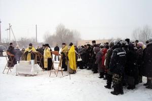 3 января архиепископ Орловский и Ливенский Антоний освятил закладной камень в основание строительства храма в селе Луковец.