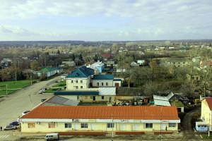 Центр Малоархангельска в ноябре 2013 года.