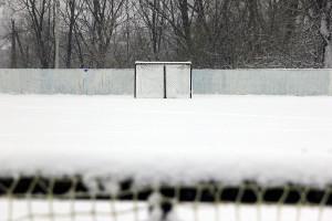 Хоккейная коробка в Малоархангельске.