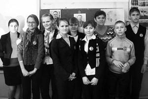Школьники Ивановской школы.