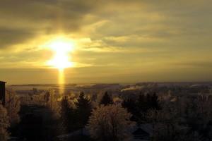Небо над Малоархангельском.