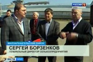 И.о. губернатора Вадим Потомский в минувшие выходные посетил Колпнянский и Малоархангельский районы.