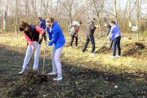 Учащиеся городской гимназии Малоархангельска.
