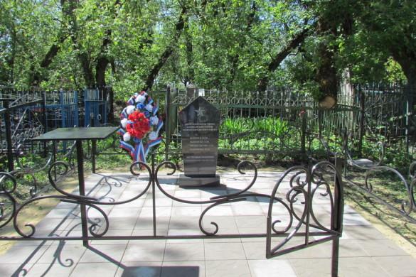 Захоронение протасовских подпольщиков после реконструкции.