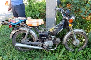 Мотоцикл Racer после дтп в Малоархангельске.