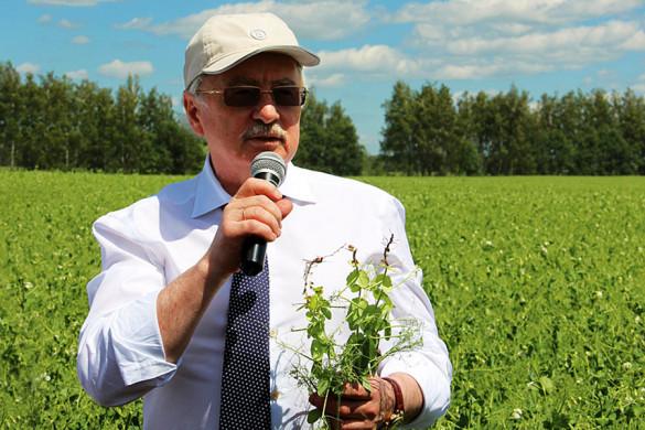 Генеральный директор ЗАО «Щелково Агрохим», доктор химических наук, член-корреспондент Российской академии наук Салис Каракотов.