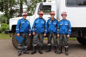 1 место заняла бригада электрических сетей Малоархангельского района.